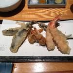 天ぷら魚新 -