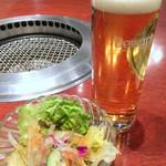 上野太昌園 - ランチビール310円で