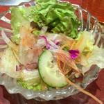 上野太昌園 - セットサラダ