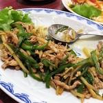 留園 - 青椒肉糸