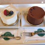 6423173 - 蔵王塩チーズケーキ、ムースショコラ