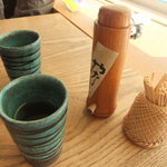 伊達 翁 - そば茶です