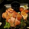 鳥こまち 四日市店 - 料理写真:地鶏おろしわさび
