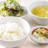 中国料理 敦煌 - 料理写真:ライスセット