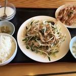 味源 - 野菜炒め定食