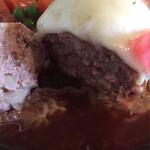 resutoranrengaya - 肉肉しいハンバーグ!