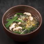 本格焼肉 カンゲン - 野菜スープ