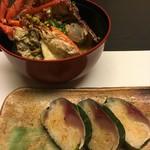 割烹 田一 - めはり寿司と伊勢海老のかぶと汁