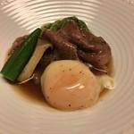 割烹 田一 - 牛サーロインと旬野菜のすき煮