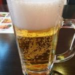 餃子居酒屋 福多味 - 生ビール