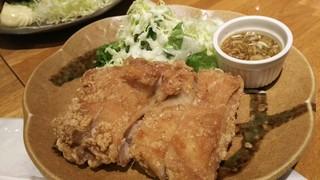 宮どり - 油淋鶏定食(750円)