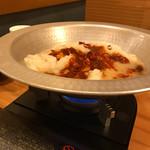 水炊き・焼き鳥 とりいちず - 味変セットで辛