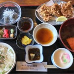 うつみ食堂 - 料理写真:生しらす定食2400円