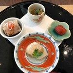 HAMA SYOU - 前菜4種