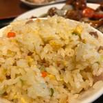 佳華 - 酢豚セットの炒飯