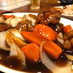 佳華 - 酢豚セット