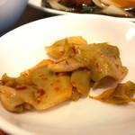 佳華 - 酢豚セットザーサイ