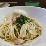 煮干中華ソバ イチカワ - 和え玉+味玉