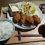 メリケンサカナ - 広島産牡蠣のオイスタープレート 1,100円