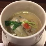 鮨 ほし野 - 虎河豚のスープ仕立て