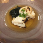 鮨 ほし野 - 真鯛 白子焼き