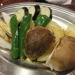 亜里蘭 - 野菜盛り