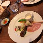 ラ キアーヴェ - 本日の前菜✨