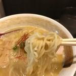 めん屋 高樹 - 細い棒麺