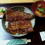 中村屋 - 一匹うなぎ丼2750円