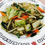 64247297 - レバ野菜炒め