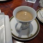 64247998 - 主人のコーヒーにはお手拭きやナプキンがちゃんと有ります