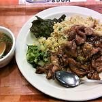 鳳蘭 - ボリューム満点の肉のせチャーハン