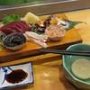 光鮨 - 料理写真:手前の出汁が謎でした(笑)