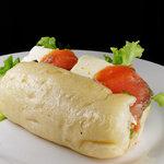 zacro - スモークサーモン&クリームチーズのサンド(ハーフ)