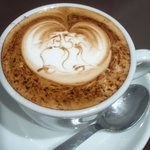 6426521 - かわいいコーヒーアート