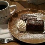 フィールグッド コーヒー - チョコレートブラウニー