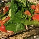 64261399 - 有機野菜のグリーンサラダ
