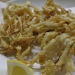 笹山 - 白魚のかき揚げ
