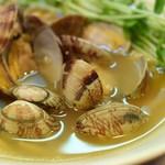 チャイナ・ポート - あさりスープのあさりラーメン