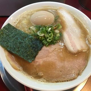 麺一盃 - 料理写真:こってり豚骨醤油味(700円)+半熟味付玉子(100円)