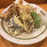 酒菜処 きっすい - 蛸の天ぷら…きっすいさんで蛸料理は必須です( ´ ▽ ` )ノ