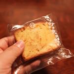 パティスリー エイセンドウ - パウンドケーキ オレンジ☆