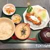 開花亭 - 料理写真:2017年(平成29年)2月 麦とろ鶏南蛮定食