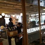 フリーマン カフェ - 入口