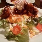 たまごのたまご - 料理写真:チキン南蛮風オムライス