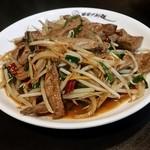 中国料理 幸華 - ニラレバ炒め