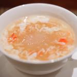 64271696 - カニの卵入りツバメの巣のスープ