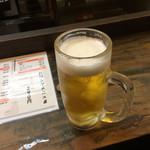ちょい吉 - 生ビール