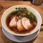 ラーメンムギュ - オニバラ黒  ¥750