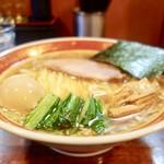 懐や - [2017/02]醤油・細麺(680円)+味玉(100円)+大盛(100円)